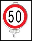 AZAMİ HIZ SINIRLAMASI 50 KM